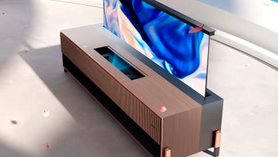 Photo of Hisense launches laser TV with roll-up screen