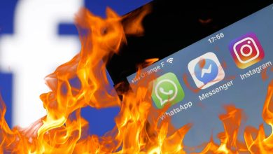 Photo of Facebook, Instagram and WhatsApp are offline!  It's not your internet
